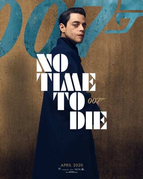 Rami Malek No Time To Die Poster