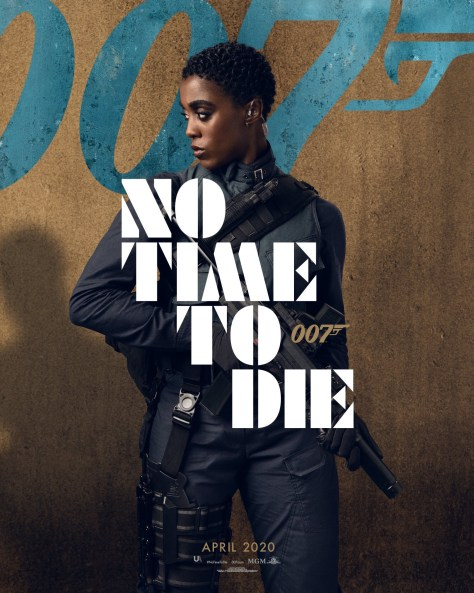 Lashana Lynch No Time To Die Poster
