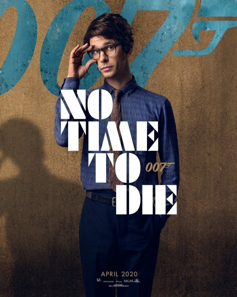 Ben Whishaw No Time To Die Poster