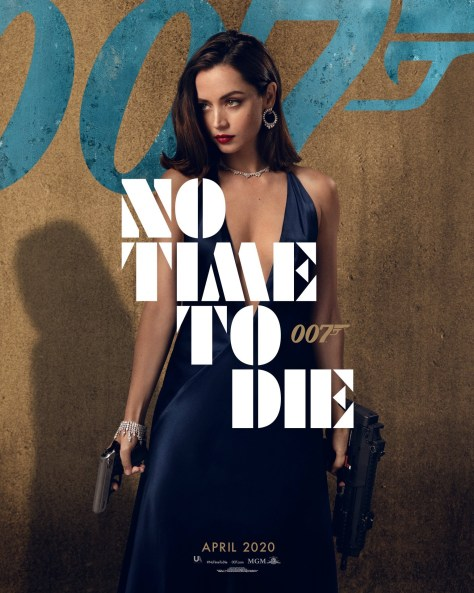 Ana-de-Armas-No-Time-To-Die-Poster