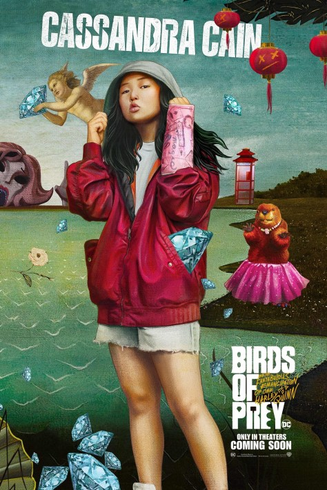 Cassandra Cain Birds Of Prey Poster