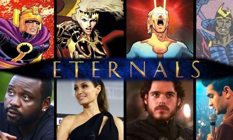 Marvel's Eternals Synopsis Revealed
