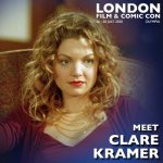Clare Kramer London Film & Comic Con 2020