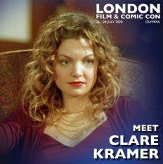 Clare Kramer London Film & Comic Con 2020