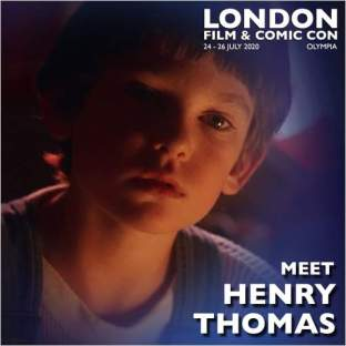 Henry Thomas London Film & Comic Con 2020