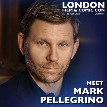 Mark Pellegrino London Film & Comic Con 2020