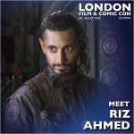 Riz Ahmed London Film & Comic Con 2020