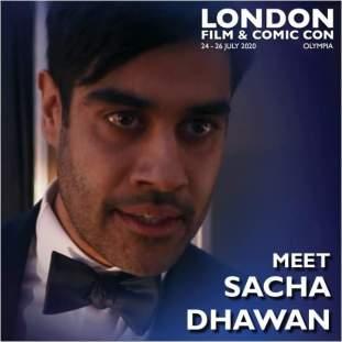 Sacha Dhawan London Film & Comic Con 2020