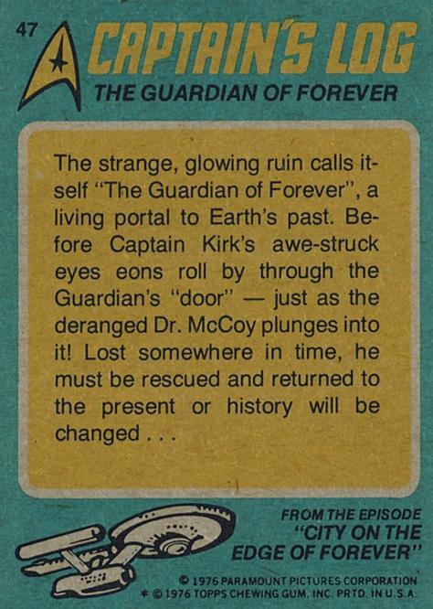 Star Trek: The Original Topps Trading Cards Series Captain's Log