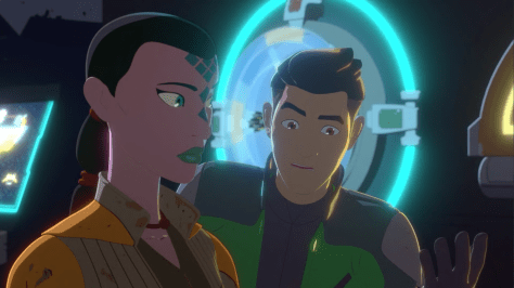 Star Wars Resistance - The Mutiny Synara and Kaz