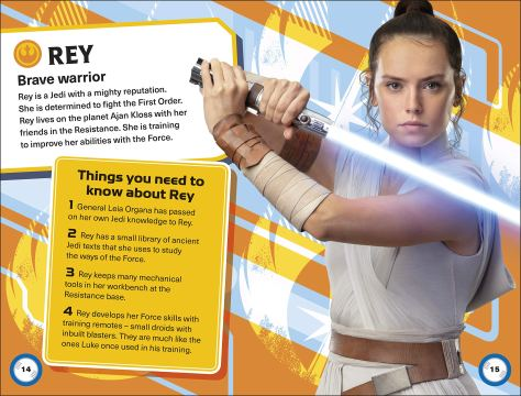 Star Wars The Rise Of Skywalker The Galactic Guide Rey