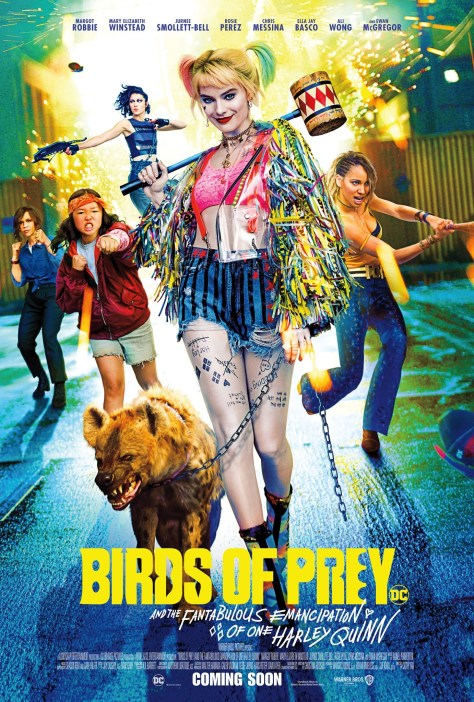 Harley Quinn Birds Of Prey Theatrical Poster