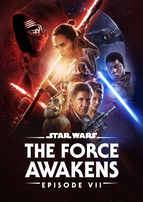 Star Wars The Force Awakens Disney Plus Poster