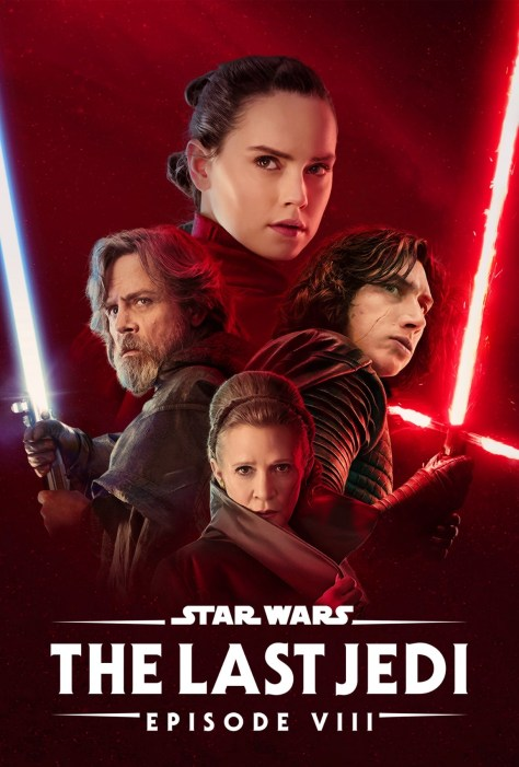 Star Wars The Last Jedi Disney Plus Poster