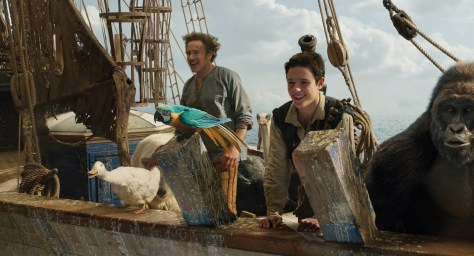 Robert Downey JR in Dolittle - Ocean Cruise