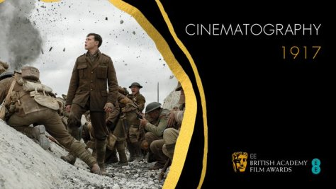 1917 wins Best Cinematography at the BAFTAS