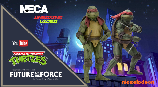 FOTF TV | NECA 'Teenage Mutant Ninja Turtles' RAPHAEL (1990 Movie) UNBOXING VIDEO