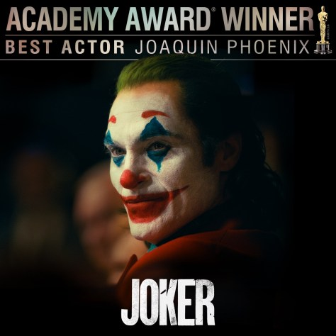 Best Actor: Joaquin Phoenix (Joker) - Oscars 2020