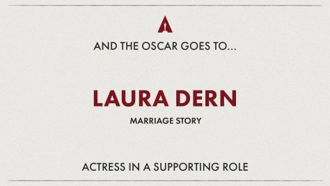 Best Supporting Actress: Laura Dern (Marriage Story) Oscars 2020
