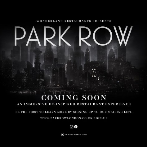 Park Row - Gotham City Inspired Restaurant