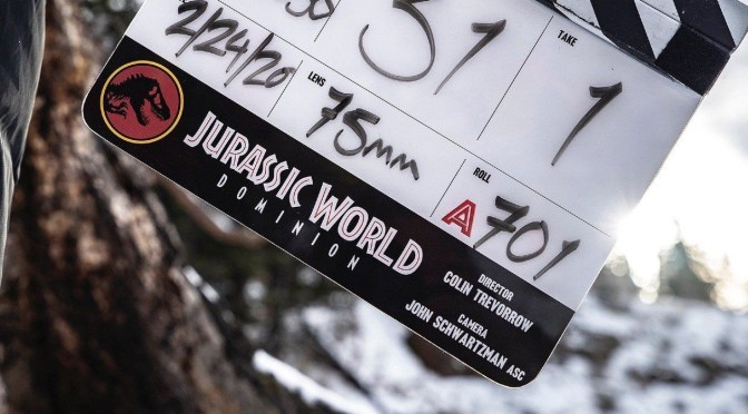 Jurassic World 3 Officially Titled: Jurassic World Dominion