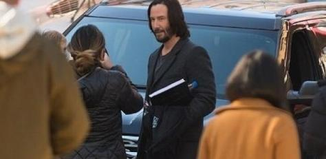 The Matrix 4 - Keanu Reeves