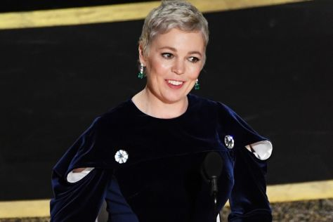 Olivia Coleman at the Oscars 2020
