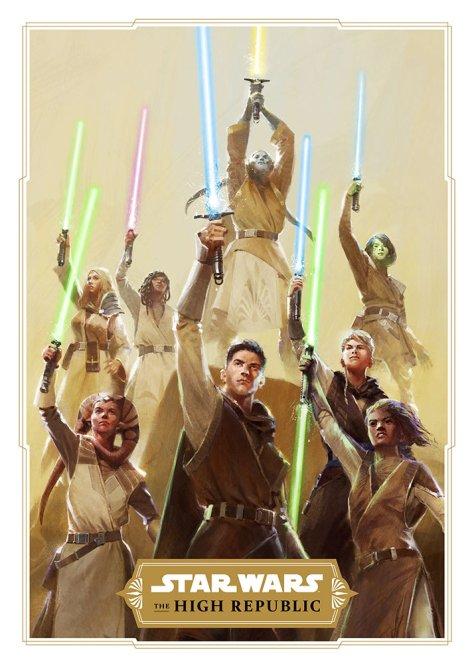 The Jedi of The High Republic Into The Dark