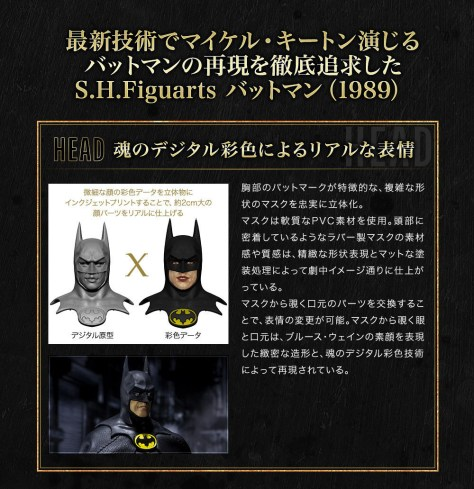 Bandai S.H. Figuarts Batman 1989 Promo Image 12