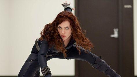 Black Widow In Action - Iron Man 2