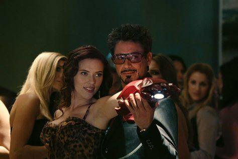Natasha and Tony - Iron Man 2