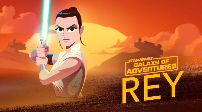 Star Wars: Galaxy of Adventures | The Force Calls to Rey