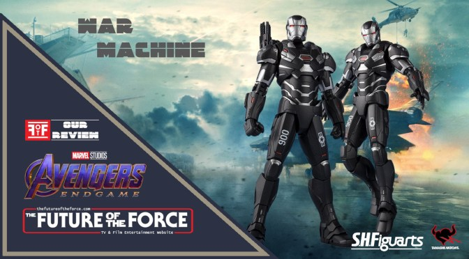 S.H. Figuarts Review | War Machine (Avengers Endgame) (Bandai Premium)