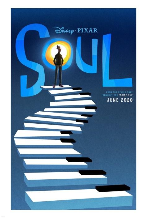 Disney Pixar's Soul Poster