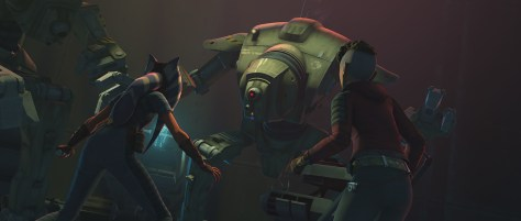 Star Wars The Clone Wars Episode 5 Gone With a Trace 2