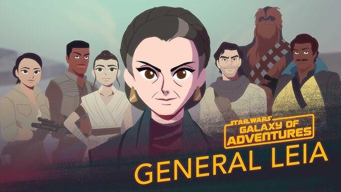 Star Wars: Galaxy of Adventures | Leia Organa - A Princess, A General, A Mentor
