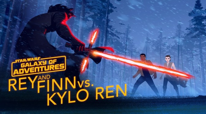 Star Wars: Galaxy of Adventures | Rey and Finn vs. Kylo Ren