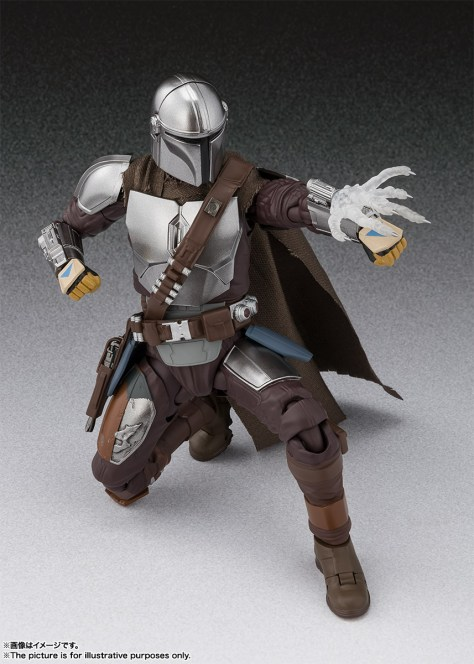 S.H. Figuarts Mandalorian Beskar Armor 004