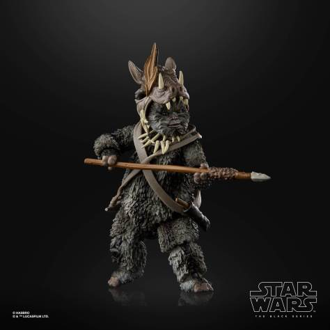 STAR WARS THE BLACK SERIES 6 INCH TEEBO EWOK Figure 002