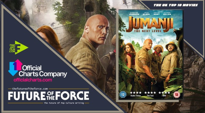 The Uk Top 10 - Jumanji: The Next Level