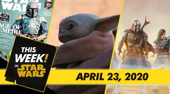 This Week! in Star Wars | A Sneak Peek at Disney Gallery: The Mandalorian, Join The Star Wars Show Book Club, and More!