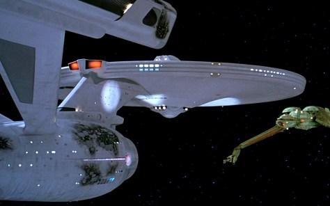 Star Trek III: The Search For Spock - Bird of Prey Decloacks