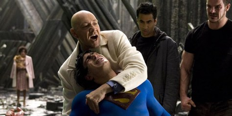 Lex Stabs Superman - Superman Returns