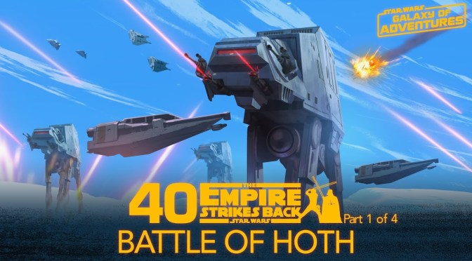 Battle on Hoth Star Wars Galaxy of Adventures