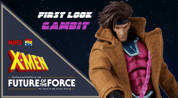 MAFEX | First Look At Gambit (X-Men)