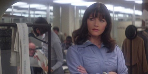 Margot Kidder as Lois Lane in Superman The Movie