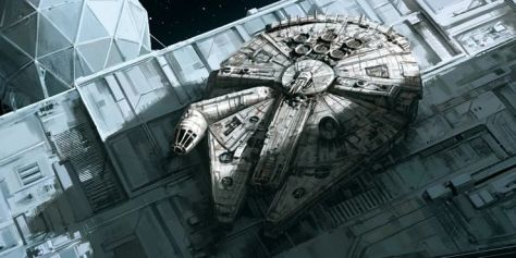 Millennium Falcon - Empire Strikes Back