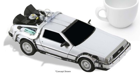 NECA Back To The Future Time Machine Diecast
