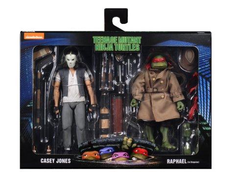 NECA TMNT Casey Jones and Raphael 2 Pack 001