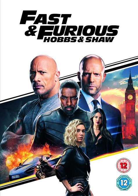 Hobbs and Shaw DVD
